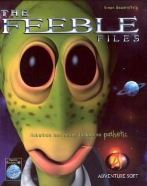 The Feeble Files Box Cover