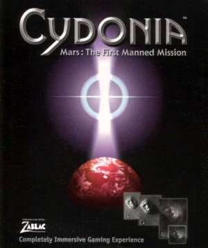 Cydonia - Mars: The First Manned Mission Box Cover
