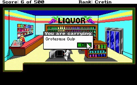 Screenshot for Leisure Suit Larry Goes Looking for Love (In Several Wrong Places) 1