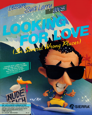 Leisure Suit Larry Goes Looking for Love (In Several Wrong Places) Box Cover