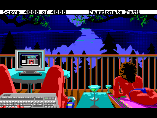 Screenshot for Leisure Suit Larry 3: Passionate Patti in Pursuit of the Pulsating Pectorals 1