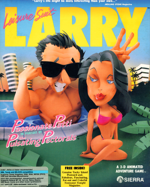 Leisure Suit Larry 3: Passionate Patti in Pursuit of the Pulsating Pectorals Box Cover