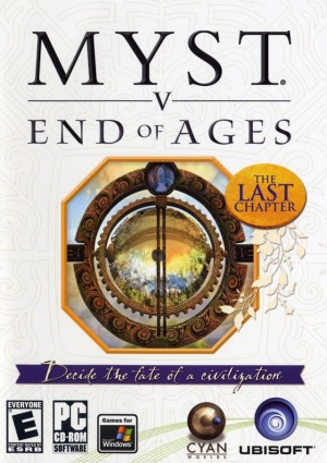 Myst V: End of Ages Box Cover