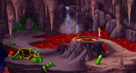 Screenshot for Legend of Kyrandia: The Hand of Fate (Fables & Fiends), The 2
