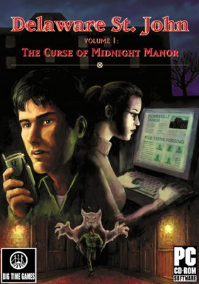 Delaware St. John Volume 1: The Curse of Midnight Manor Box Cover