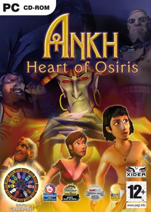 Ankh: Heart of Osiris Box Cover