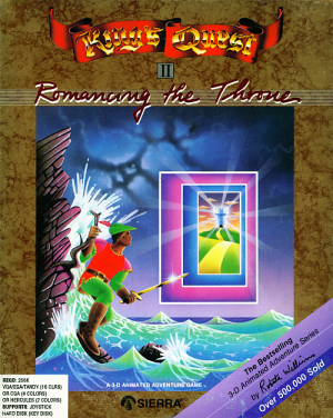 King's Quest II: Romancing the Throne Box Cover