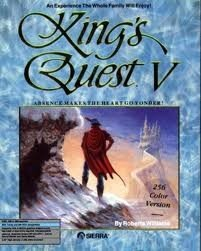 King's Quest V: Absence Makes the Heart Go Yonder! Box Cover