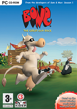 Bone: The Great Cow Race Box Cover