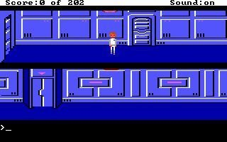 Screenshot for Space Quest: Chapter I - The Sarien Encounter 2