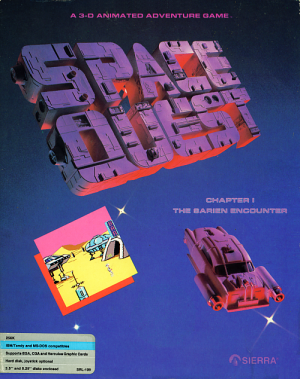 Space Quest: Chapter I - The Sarien Encounter Box Cover