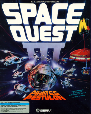Space Quest III: The Pirates of Pestulon Box Cover