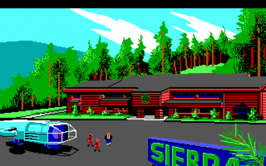 Screenshot for Space Quest III: The Pirates of Pestulon 2