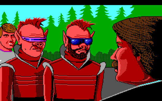 Screenshot for Space Quest III: The Pirates of Pestulon 1