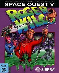 Space Quest V: Roger Wilco - The Next Mutation Box Cover