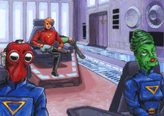 Screenshot for Space Quest V: Roger Wilco - The Next Mutation 2