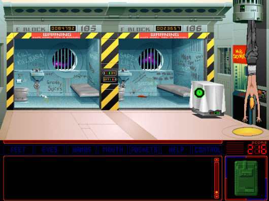Screenshot for Space Quest 6: Roger Wilco in the Spinal Frontier 2