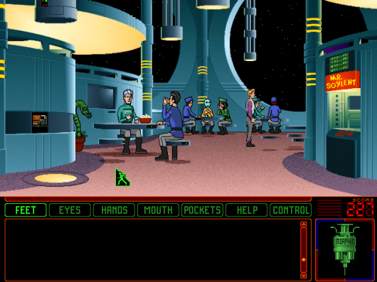 Screenshot for Space Quest 6: Roger Wilco in the Spinal Frontier 1