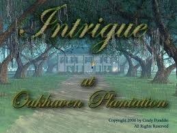 Intrigue at Oakhaven Plantation Box Cover