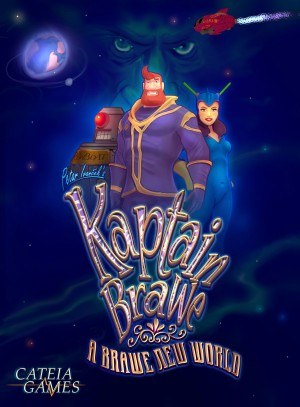 Kaptain Brawe: A Brawe New World Box Cover