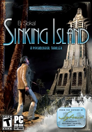 Sinking Island Box Cover