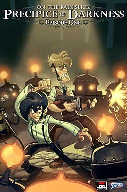 Penny Arcade Adventures: On the Rain-Slick Precipice of Darkness Box Cover