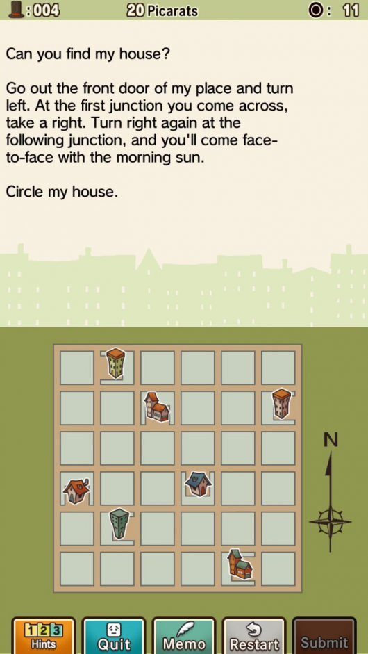 Screenshot for Professor Layton and the Curious Village 3