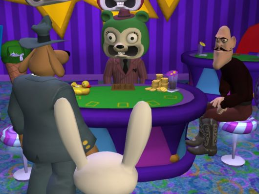 Screenshot for Sam & Max: Episode 3 - The Mole, the Mob, and the Meatball 2
