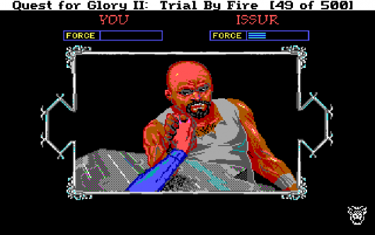 Screenshot for Quest for Glory II: Trial by Fire 9