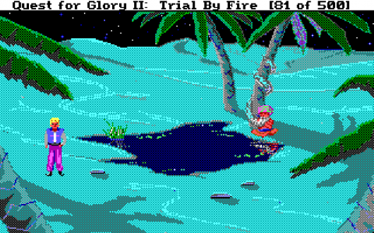 Screenshot for Quest for Glory II: Trial by Fire 7