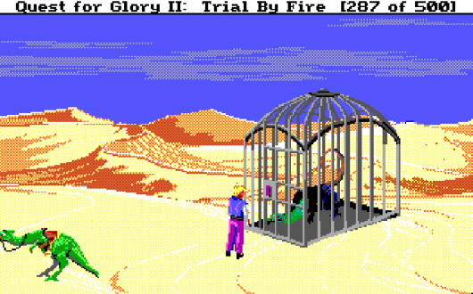 Screenshot for Quest for Glory II: Trial by Fire 6