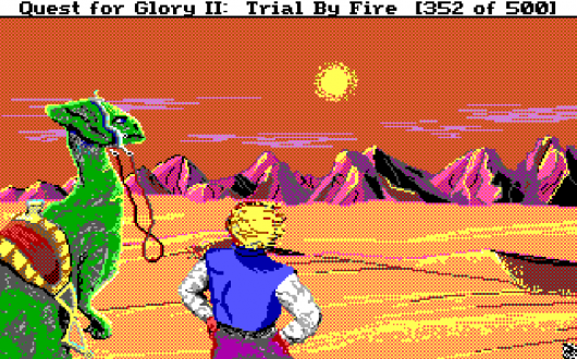 Screenshot for Quest for Glory II: Trial by Fire 5