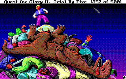 Screenshot for Quest for Glory II: Trial by Fire 4