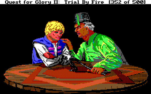 Screenshot for Quest for Glory II: Trial by Fire 3