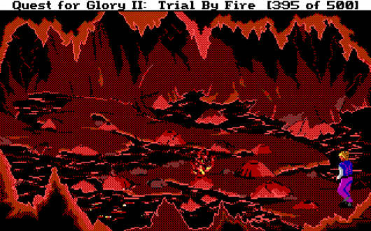 Screenshot for Quest for Glory II: Trial by Fire 2