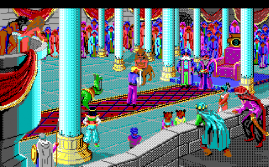 Screenshot for Quest for Glory II: Trial by Fire 1