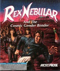 Rex Nebular and the Cosmic Gender Bender Box Cover