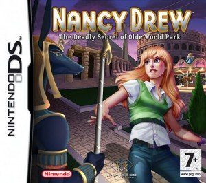 Nancy Drew: The Deadly Secret of Olde World Park Box Cover