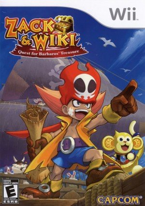Zack & Wiki: Quest for Barbaros' Treasure Box Cover