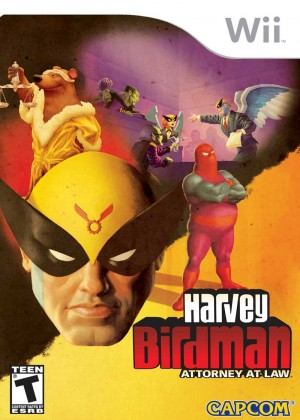 Harvey Birdman: Attorney at Law Box Cover