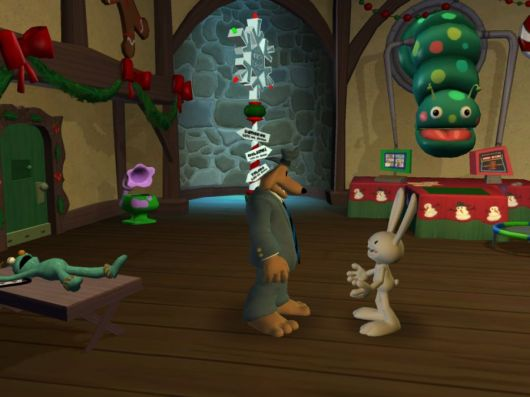 Screenshot for Sam & Max: Episode 201 - Ice Station Santa 1