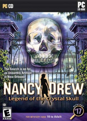 Nancy Drew: Legend of the Crystal Skull Box Cover