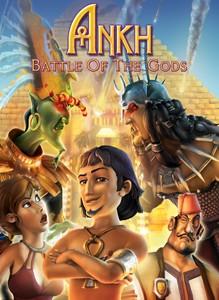 Ankh: Battle of the Gods Box Cover