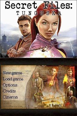Screenshot for Secret Files: Tunguska (DS) 1
