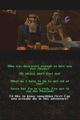 Screenshot for Ankh: Curse of the Scarab King 2