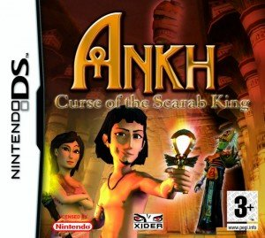 Ankh: Curse of the Scarab King Box Cover