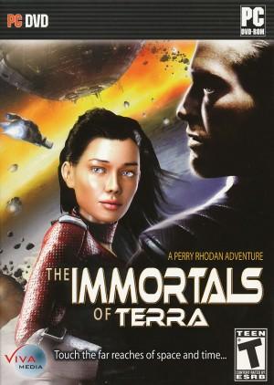 The Immortals of Terra: A Perry Rhodan Adventure Box Cover
