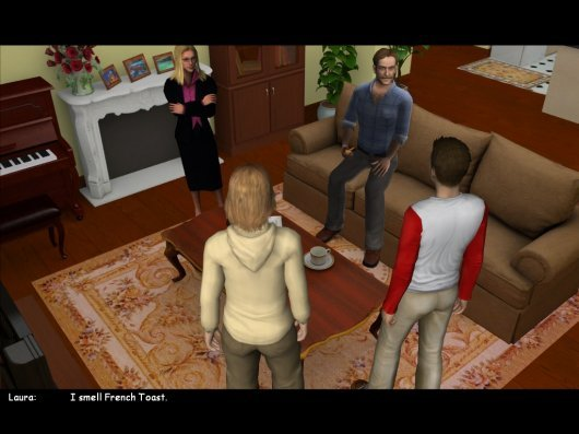 Screenshot for Hardy Boys: The Hidden Theft, The 3