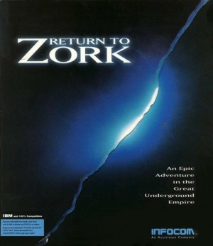 Return to Zork Box Cover