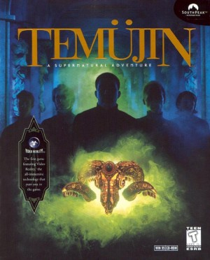 Temüjin Box Cover